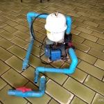 一手塑料水塔带自动泵