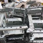 泰国大型打印机内部金属片出售,干净无杂质