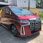 曼谷卖全新丰田阿尔法2.5顶配款现货