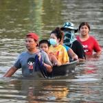 泰國洪患淹沒7萬棟住家釀6死 曼谷加強戒備