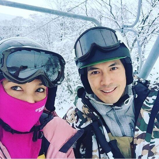 泰国一哥Ken带家人日本滑雪新闻资讯综艺娱乐泰国网,泰国华人论坛 图片
