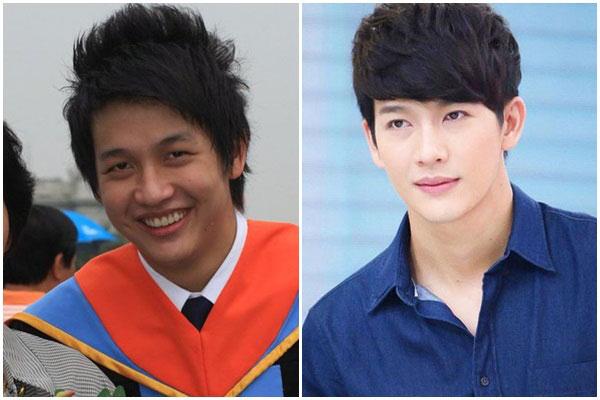 九位泰国男星整容前后对比,Mike也榜上有名哦影像泰国综艺娱乐泰图片